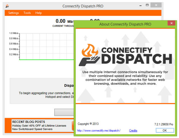 Connectify Dispatch